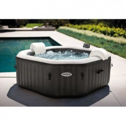 Spa Gonflable 201x71 Cm. Purespa Jet And Bubble Deluxe Intex 28458 | Piscineshorssolweb