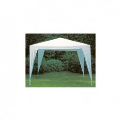 Tonnelle Couleur Blanc De 300x300 Cm | Piscineshorssolweb
