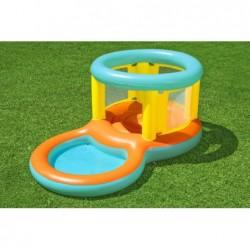 Plongeoir avec Piscine de Jeu de 239x142x102 cm. Jumptopía Bestway 52385 | Piscineshorssolweb
