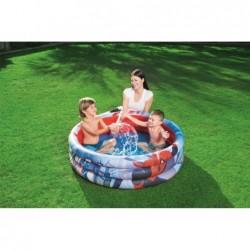 Piscine Gonflable Pour Enfants de 122x30 cm. Spiderman Bestway 98018   Piscineshorssolweb