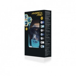 Masque Tuba Hydro Pro avec 2 Tubes Taille S/M Bestway 24060 | Piscineshorssolweb