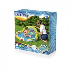 Piscine Gonflable Pour Enfants de 120x117x46 cm. avec des Jouets Bestway 52378   Piscineshorssolweb