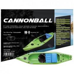 Kayak Cannonbal de la marque Kohala 400x84x36cm, de Ociotrends KY400 | Piscineshorssolweb