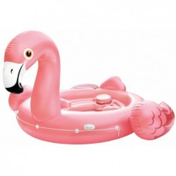 Ile Gonflable Intex 57267 De 422x373x185 Cm. Flamant Rose