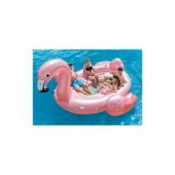Ile Gonflable Intex 57267 De 422x373x185 Cm. Flamant Rose | Piscineshorssolweb