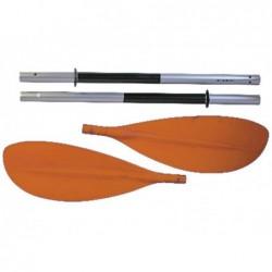 Aviron kayak de kohala 3 pièces 220 cm. en Aluminium Ociotrends RK001.