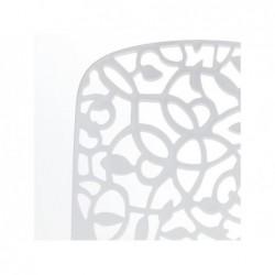 Mobilier de Jardin Chaise Modèle Flora Blanche SP Berner 55109   Piscineshorssolweb