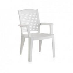 Muebles de Jardín Silla Modelo Metal Blanca SP Berner 55154