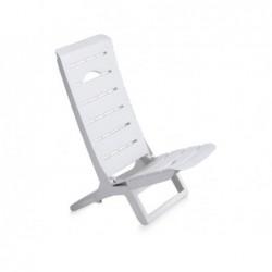 Muebles de Jardín Silla Modelo Parsy Blanca SP Berner 55077