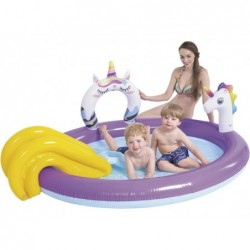 Piscine gonflable Jilong Unicorn Spray Pool 51001   Piscineshorssolweb