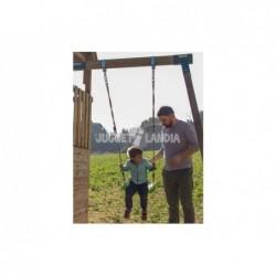Parque Infantil Palazzo XL con columpio Individual de Masgames MA802711 | PiscinasDesmontable