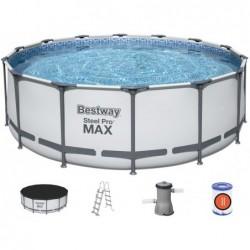Piscine Hors Sol Steel Pro Max de 427x122 cm. Bestway 5612 | Piscineshorssolweb