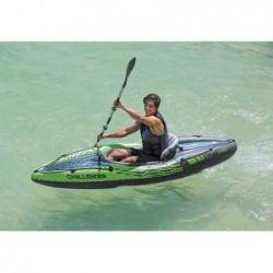 Kayak Gonflable Challenger K1 De 274x76x38 Cm Intex 68305 | Piscineshorssolweb