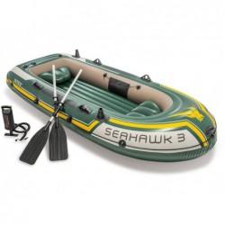 Bateau Gonflable Seahawk 3 Personnes 295x137x43 Cm Intex 60380np