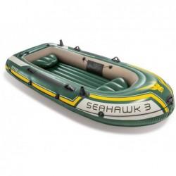 Bateau Gonflable Seahawk 3 Personnes 295x137x43 Cm Intex 60380np | Piscineshorssolweb