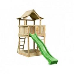 Air De Jeux Avec Toboggan Pagoda Masgames Ma801601