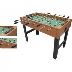 Table de soccer particulair en bois 121x61x80 cm