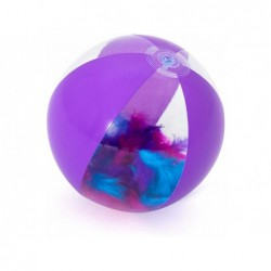 Ballon Gonflable Violet Avec Plumes De 41 Cm. Bestway 31051