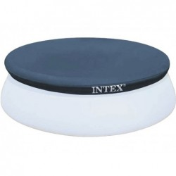 Bâche De Protection Pour Piscine Intex Easy Set Ref 28022. 366 Cm