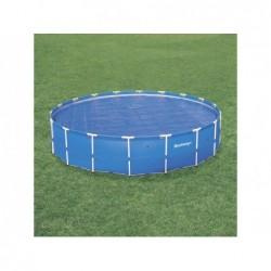 Bâche À Bulles Circulaire Pour Piscine Tubulaire Bestway 58173 521 Cm Diametre | Piscineshorssolweb