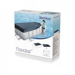 Bâche De Protection Pour Piscine Tubulaire Rectangulaire Bestway Frame Pool 58232 396 X 185 Cm | Piscineshorssolweb