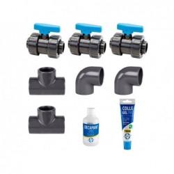 Dome Solaire Accessoire Kit Bypass Pour Piscines