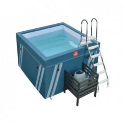 Mini Piscine Fit S Pool Pour Aquafitness De 128x184x184 Cm
