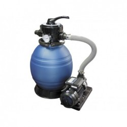 Épurateur Filtre À Sable Monobloc Modele 500 Et Pompe 08 Hp